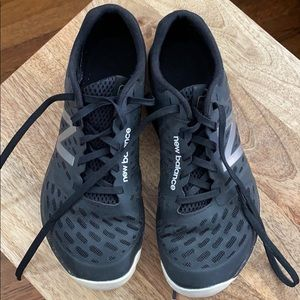 New Balance Minimus sneakers.
